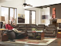 furniture brown leather recliner by ashley furniture austin with