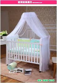 Kids Bed Canopy Tent by Crib Canopy Tent Kids Crib Mosquito Net White Color Baby Infant