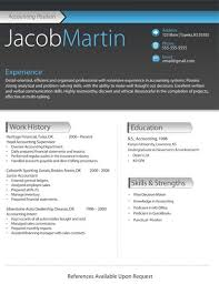 best free resume template examples of professional resumes free