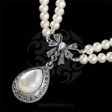pearl bow necklace images Luke stockley alexandra may jewellery jpg