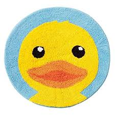 Yellow Duck Bath Rug Jumping Beans Yellow Duck Bath Rug Home Kitchen