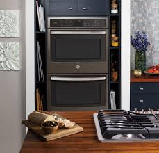sleek modern kitchen get a new kitchen look with ge appliances with premium slate
