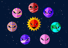 angry planets free vector download free vector art stock