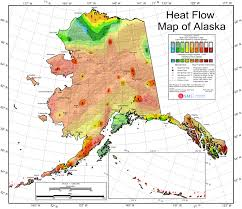 Alaska Temperature Map by Geothermal Current Maps Dedman College Smu