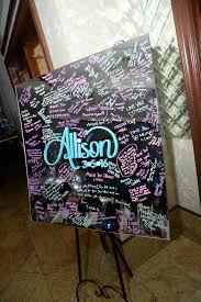 bat mitzvah sign in boards mirror sign in boards balloon artistry