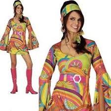 psychedelic bell sleeve m l 60s 70s hippie mod dress festival boho