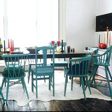 Teal Dining Room Chairs Teal Dining Room Chairs Mix And Match Furniture Dining Room Ideas