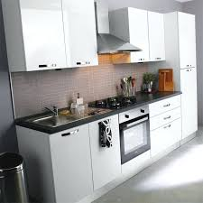 cuisine equipee blanc laquee cuisine equipee blanc laquee 2 i 579350