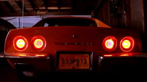 c3 1973 corvette led halos and taillights