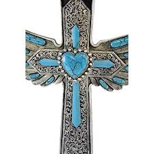 Cross Wall Decor by Winged Wall Cross For Wall Décor Beautiful Christian Cross