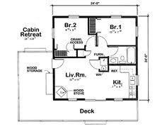 1 Bedroom Cabin Floor Plans One Bedroom 1 5 Bath Cabin With Wrap Around Porch And Screened