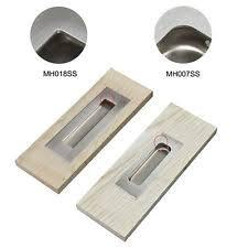 Recessed Cabinet Pull Flush Drawer Pull Ebay