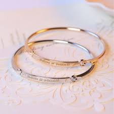 customized gold bracelets compare prices on customized gold bracelets online shopping buy