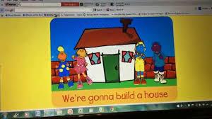 tweenies karaoke gonna build a house youtube