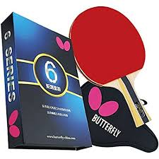 butterfly table tennis racket amazon com butterfly 603 table tennis racket set 1 ping pong