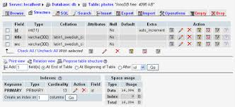 sql create table primary key autoincrement create a photo admin site using php and jquery
