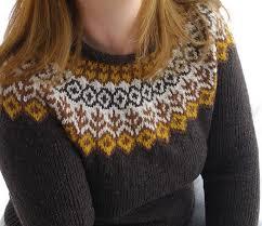 scandinavian sweaters a simple cutting and original pattern
