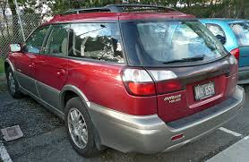 red subaru outback file 2000 2001 subaru outback bhe my01 h6 station wagon 2009 06