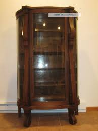 curio cabinet antique oak curio cabinet rare images ideas ebert