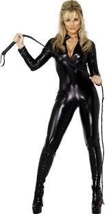 wholesale s m l xl xxl long sleeve faux leather catsuit halloween
