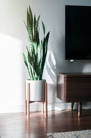 mid century modern plant stand inspired by the 1950s this