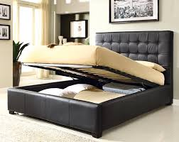 at home usa athens upholstered storage platform bed u0026 reviews
