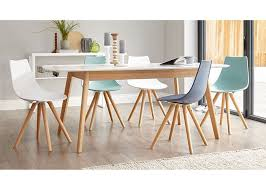 white dining room table extendable matt simple modern white dining table extendable function optional color