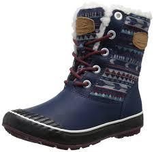 s ugg australia elsa boots keen s elsa boot wp winter boot dress blues 8 5 m us do