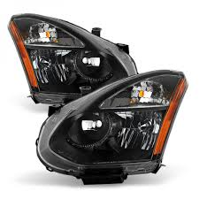 nissan rogue select 2015 2008 2013 rogue 2014 2015 select halogen models headlights black