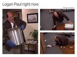 Paul Meme - dopl3r com memes logan paul right noww tank sinatra