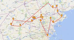 Warwick New York Map by Passport Corp Planning Data Collection Route Execution