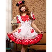 sale cute red mickey mouse halloween costume n9651