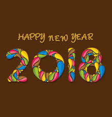 happy new years posters creative happy new year 2018 poster design vector image