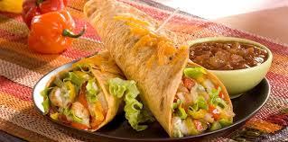 recette cuisine mexicaine burritos au poulet riz et légumes à la mexicaine facile