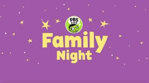 pbs kids family nights kued org