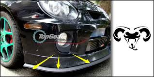 top gear daytona aliexpress com buy bumper lip deflector for dodge daytona