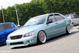 bagged lexus is300 cool wheels that work on everything v 2 1 bbs lm safety stance