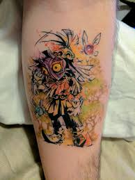 guys calf tattoos what do you guys think of my first tattoo mm visit blazezelda