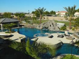Lazy River Pools For Your Backyard by Lazy River Pool U0026 Swim Up Bar In Arizona Mediterranean Pool