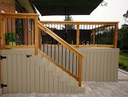 26 most stunning deck skirting ideas to try at home stair