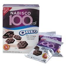 Nabisco 100 Calorie Packs Oreo Cookies 6 Box Walmart Com