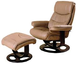 ottomans aby leather recliner with ottoman swivel recliner with
