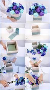 best 25 blue centerpieces ideas on pinterest blue flower