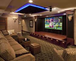 Home Theatre Design On A Budget by A Showcase Of Really Cool Theater Room Designs