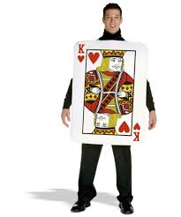 Queen Spades Halloween Costume King Hearts Halloween Costumes Men Costumes