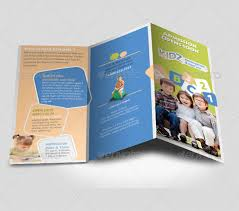 tri fold brochure template illustrator free 21 kindergarten brochure templates free psd eps ai indesign