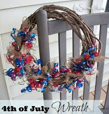 4th of july wreaths 4th of july burlap curling ribbon wreath atop serenity hill