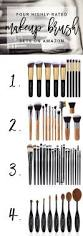 best 25 makeup brush set ideas on pinterest brush set brushes