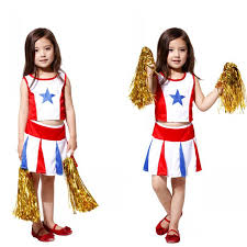Girls Cheerleader Halloween Costume Popular Cheerleader Halloween Costumes Kids Buy Cheap
