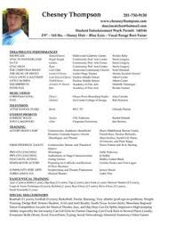 actors resume template acting resume image romeo actor